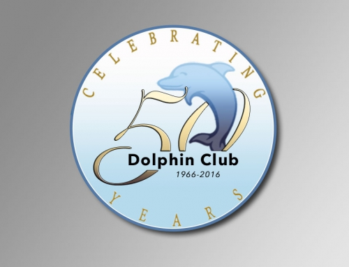 Logo Creation: Dolphin Club 50th Anniversary