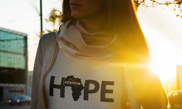 Horizon International hope t-shirt design front