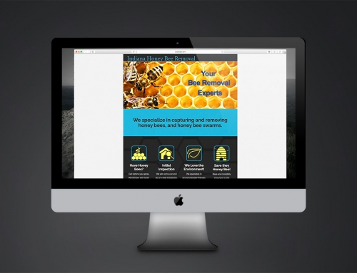 Website Design: Indiana Honey Bee Removal