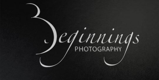 Logo design for Beginnings Photography
