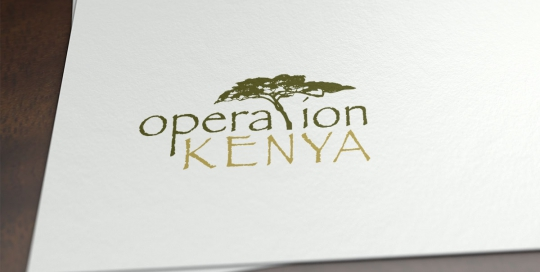 Logo design for Operation Kenya