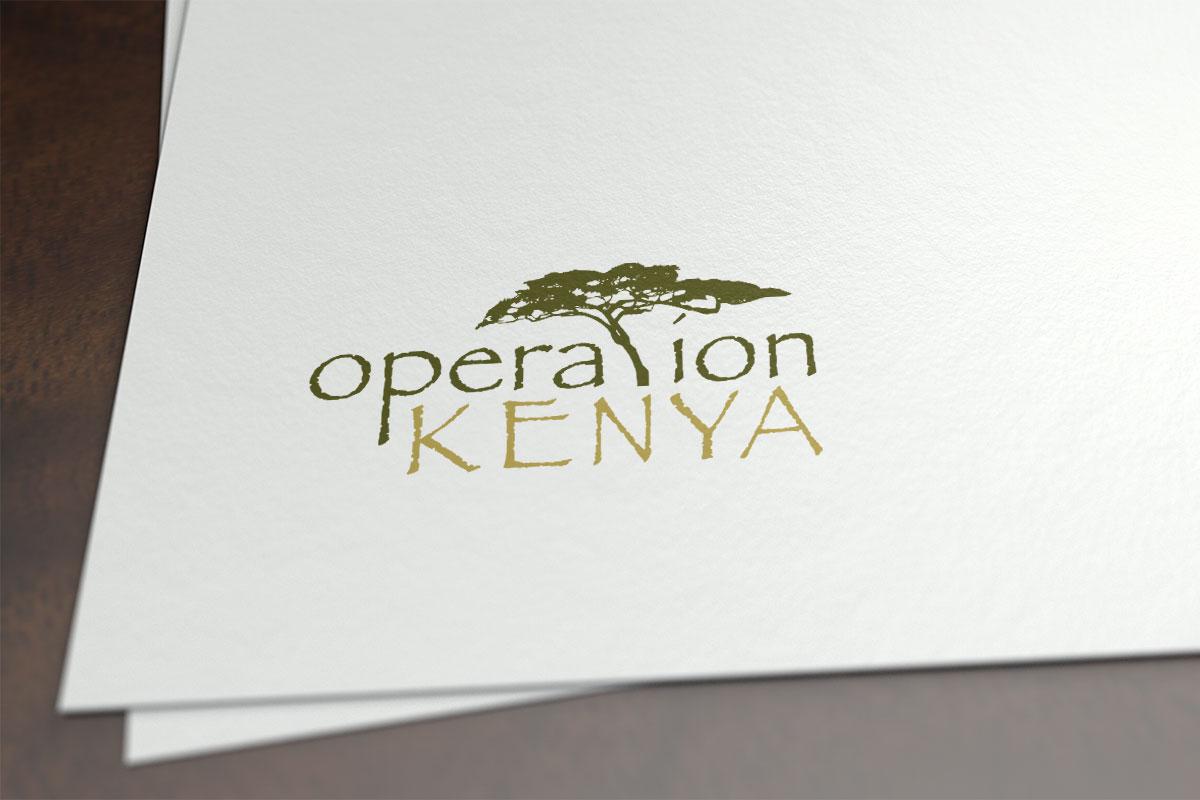 Logo design for Operation Kenya