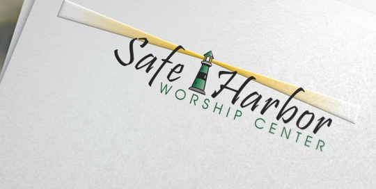 Logo design for Safe Harbor Worship Center