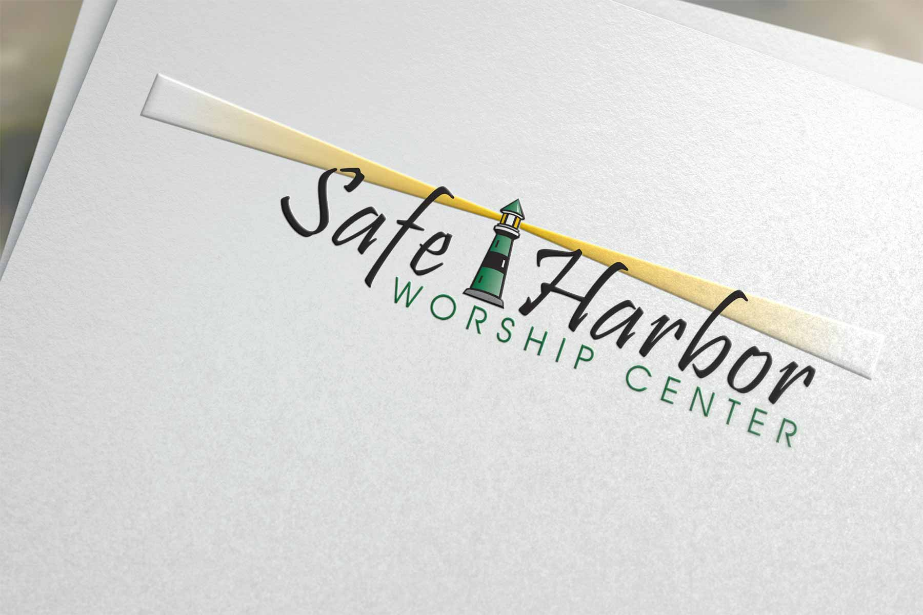 Logo design for Safe Harbor Worship Center