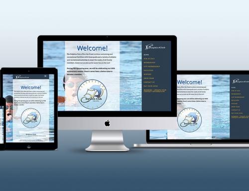 Website Design: Dolphin Club